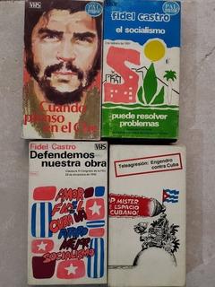 Vhs Cuando Pienso En El Che, Fidel Castro Traídos De Cuba