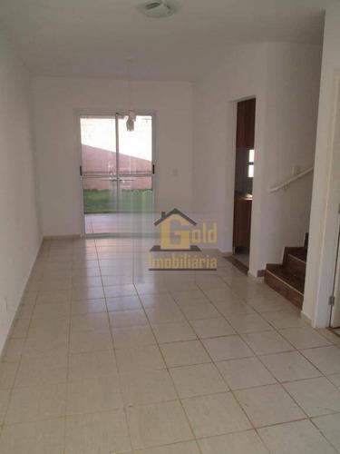 Casa Com 3 Dormitórios À Venda, 100 M² Por R$ 390.000 - Vila Do Golf - Ribeirão Preto/sp - Ca1057