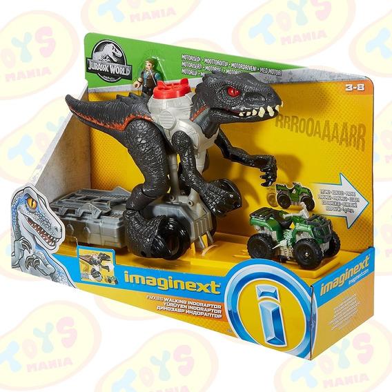 Imaginext Jurassic World Indoraptor Motorizado Mattel Fmx86