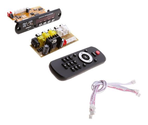 Universal Bluetooth Subwoofer Hi-fi Amplificador Placa Dc12v