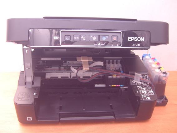 Impressora Epson Xp 241 Multifun C/bulk Ink Só Retira Em Sp