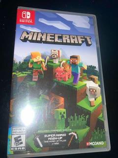 Minecraft Nuevo Para Switch Envío Gratis