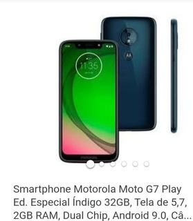 Promoção Moto G7 Play Usado