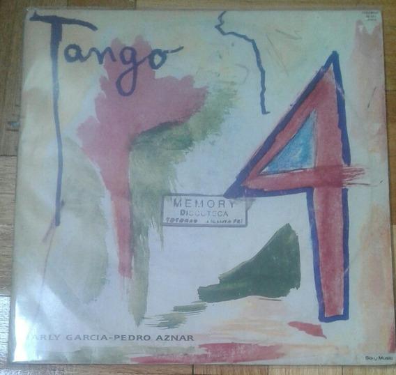 Disco Vinilo Original Charly Garcia Pedro Aznar Tango 4 1991