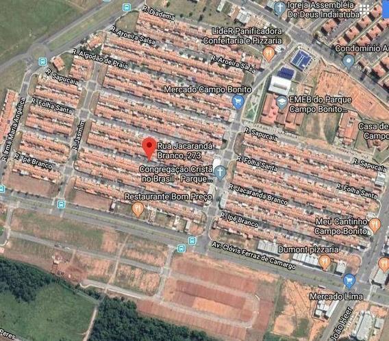 Casa Com 1 Dormitório À Venda, 51 M² Por R$ 123.750,00 - Parque Campo Bonito - Indaiatuba/sp - Ca4153