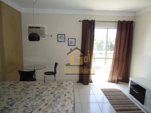 Apartamento Mobiliado Perto Da Usp - Com 1 Dormitório Para Alugar, 46 M² Por R$ 950/mês - Vila Amélia - Ribeirão Preto/sp - Ap2616