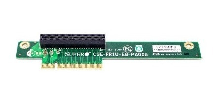 Placa Riser Supermicro Pci Ex- X8 2.0 Cse- Rr1u- E8- Pa006