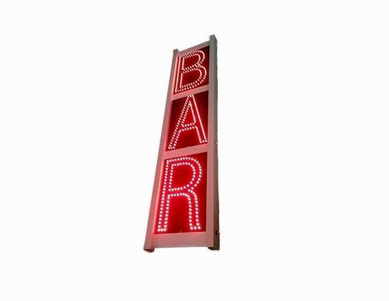 Letrero Led Bar Exterior