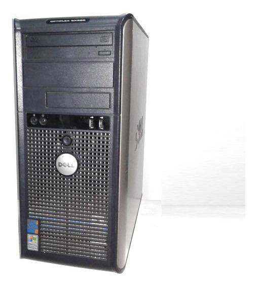 Cpu Dell Optiplex Gx620 Computador Sem Garantia