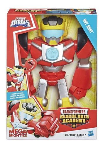 Transformers Rescue Bots Academy - Hot Shot - Mega Mighties