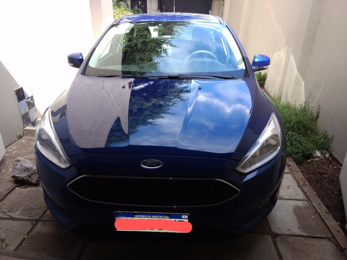 Ford Focus Modelo S 1.6 Año 2017, 40.400 Km. Impecable.
