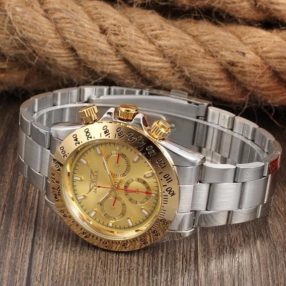 Relógio De Luxo Original Autamatico Com Garantia + Brinde