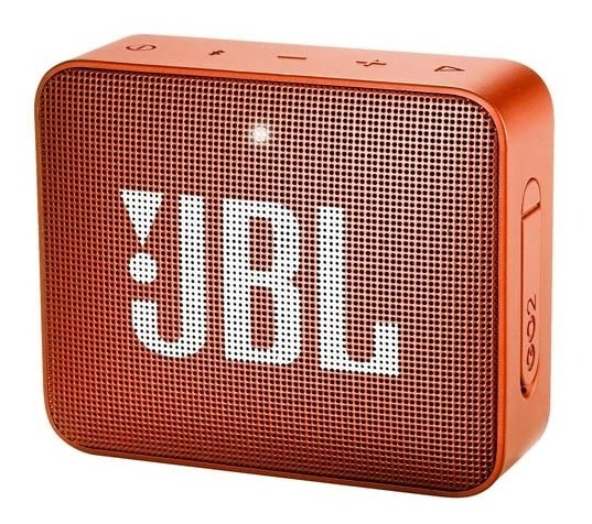 Caixa De Som Go 2 Portátil, Bluetooth, 3w, Laranja - Jbl