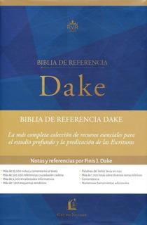 Biblia De Estudio Dake - Tapa Dura - Rv 1960