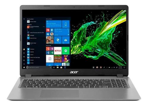 Notebook Acer I5 1035g1 8gb 256gb Ssd 15.6 Windows 10 Oferta