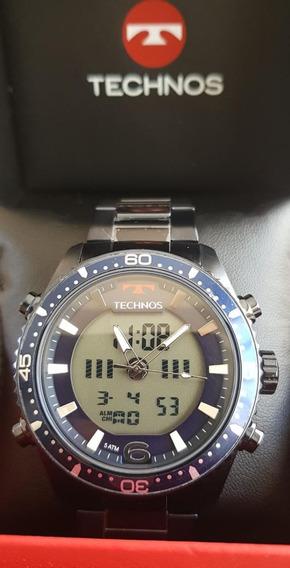Relógio Technos Masculino Ts Digiana Azul - Bjk203aae/4a