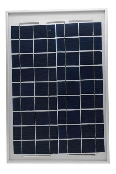 Kit Placa Célula Energia Solar Fotovoltaica 12v 10w +pwm10ah