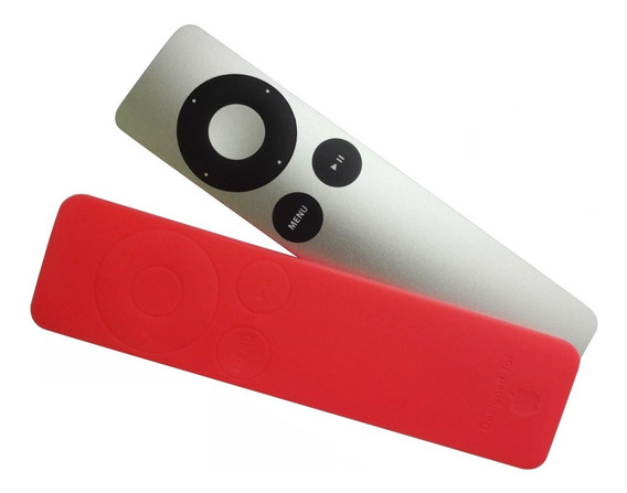 Capa Protetora Silicone Controle Remoto Tv Aplle Rosa