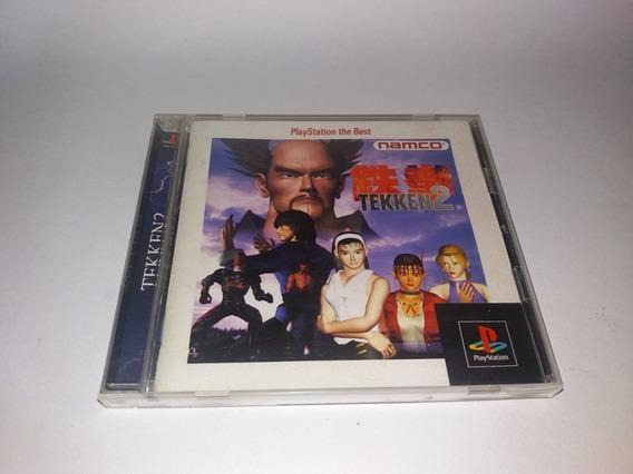Jogo Tekken 2 Original Jpn Playstation 1 Frete Gratis Namco