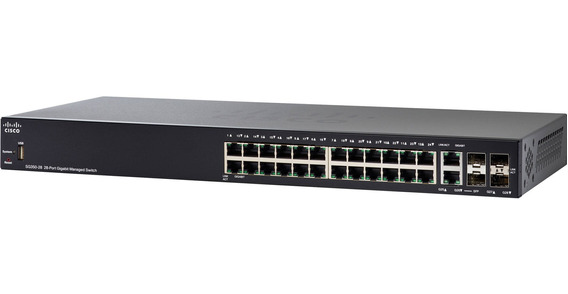 Switch 24p Cisco Sg350-28 10/100/1000 Sg350-28-k9