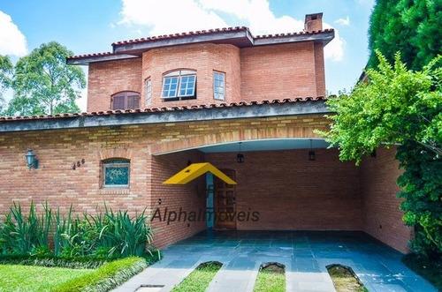 Casa A Venda No Bairro Alphaville Em Santana De Parnaíba - - Vpr4-54-1