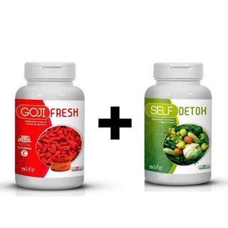 Kit Goji Berry + Detox I9 Para Emagrecimento Rápido
