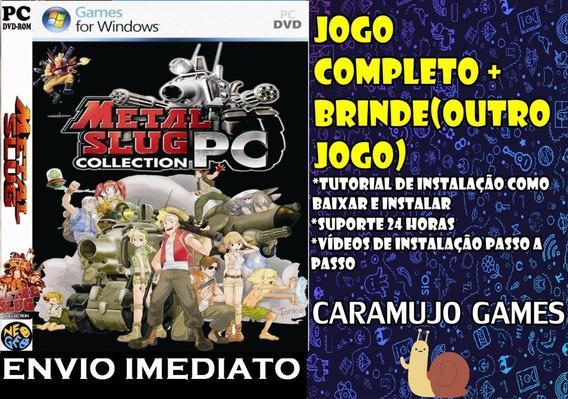 Metal Slug Coleção Completa Pc - Mídia Digital + Brinde