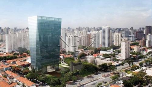 Edificio Praca Faria Lima - Meia Laje Em Pinheiros  L Npi - V-3006