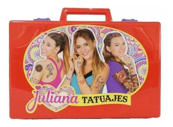 Nueva Valija Tatuajes Tattoo Juliana Original Tv Babymovil
