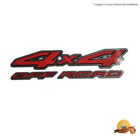 Emblema/adesivo 4x4 Off Road Frontier - Modelo Original