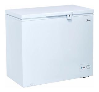 Congelador 7 Pies Midea Mfcd07p2nbbw Blanco