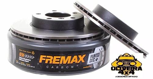 Disco Dianteiro Fremax Ford Escort Fiesta Bd1064 (par)
