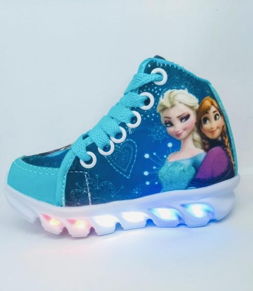 Botinha Infantil 6 Leds Frozen
