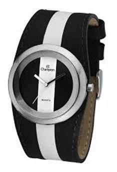 Relógio Feminino Champion Mod Ca28430t - Preto