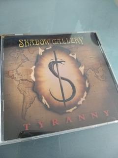 Cd Shadow Gallery - Tyranny. 1998. Importado Usa.