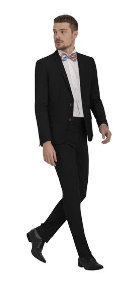 Terno Slim Masculino Look Social Fit 2019 + Camisa Slim Line