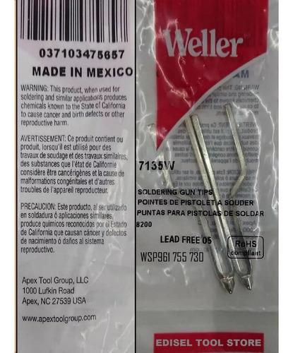 Puntas Para Pistola De Soldar Weller 140/100w (repuesto)