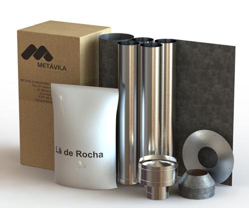 Kit Instalacion Estufa Para Techo