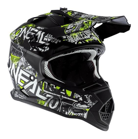 Casco Motocross Attack Niño Oneal 2 Series Rl 2020