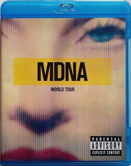 Madonna Mdna World Tour Bluray Nuevo Importado Original