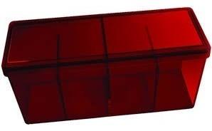 Caja 4 Compartimientos Dragon Shield Roja