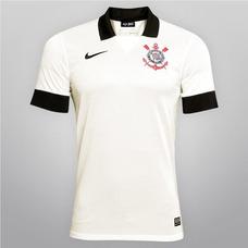 Camisa Nike Corinthians Original Nova 13 14 - Gelo 92f02be0dbb