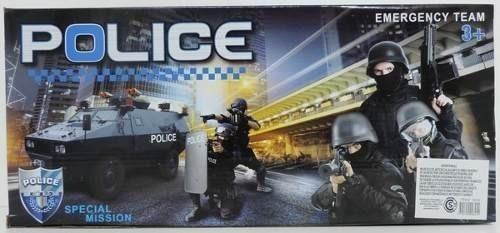 Set Policía Mediano