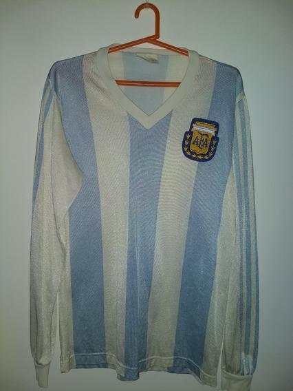 Camiseta De La Selecion Argentina 1989 Talle 03 O Xs adidas
