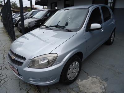 Chevrolet Celta Lt 1.0 Flex 4p Ano 2012 Prata