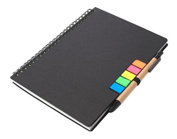 Cuaderno Y Bolígrafo Ecológico Puntera Touch 21x15 Cm