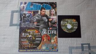 Second Life + 5 Games - Lanlife (revista + Cd) - 1 Cd