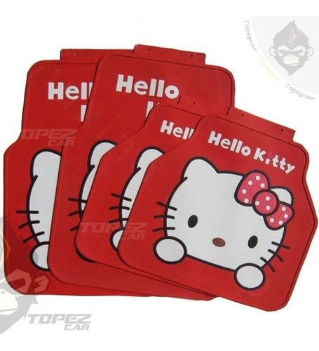 Pisos Tapete De Jebe Hello Kitty Universal Juego Completo