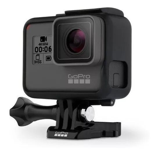 Camera Filmadora 4k Gopro Hero 6 Black Garantia 1 Ano - E-pack Retire Em Loja Ou Receba Por Motoboy + Nfe Em Seu Nome