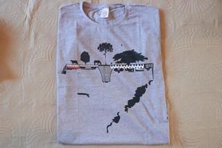 Camiseta Campo Cidade Internacional Mapa Rio Grande Do Sul